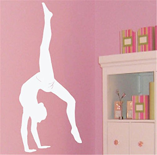 fashion base diy dekorative ballet dance m dchen gymnastik wand aufkleber geschenk tv wand. Black Bedroom Furniture Sets. Home Design Ideas