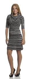 Classic Designs Mix Yarn Sweater Dress