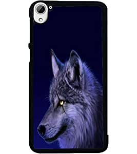 ColourCraft Scary Fox Look Design Back Case Cover for HTC DESIRE 826