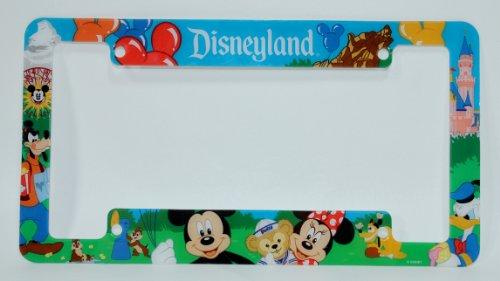 Disneyland Resort License Plate Frame Disney Parks Exclusive Limited ...