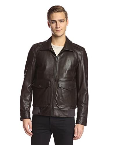 Vince Camuto Men's Shirt Collar Bomber
