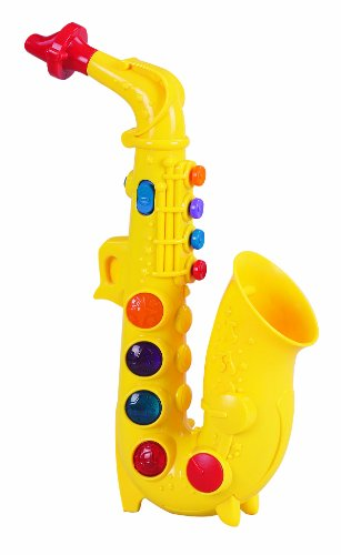 Small World Toys Preschool -Play At Home Saxophone front-870097