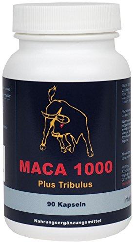 Maca 1000 plus Tribulus, Maca und Tribulus ideal kombiniert...