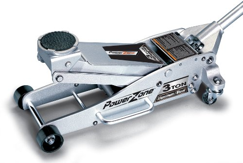 Check Out This Powerzone 380044 3 Ton Aluminum and Steel Garage Jack