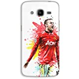 Mott2 Back Case For Samsung Galaxy J2 2016 | Samsung Galaxy J2 2016Back Cover | Samsung Galaxy J2 2016 Back Case - Printed Designer Hard Plastic Case - Wayne Rooney Theme - B074C1L3NN