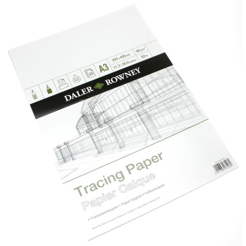 Daler Rowney 90gsm Tracing Paper A3