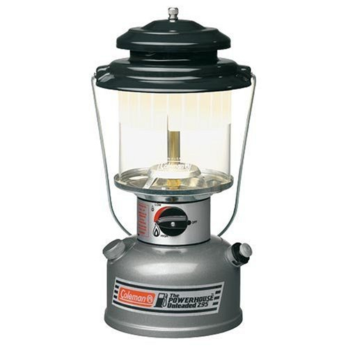 Coleman Powerhouse Double Mantle Fuel Lantern - Grey