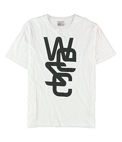 Wesc Men'S Overlay Tee, White, Large