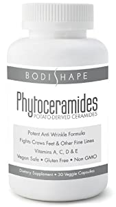 Amazon.com : Bodishape Miracle Phytoceramides - Vegan Safe Skin Care ...