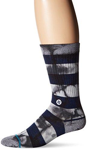 Stance Wells Socks - Navy-Large