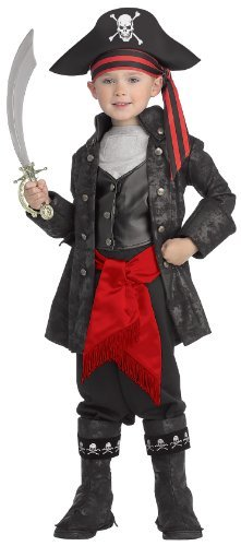 Pirate Costume - Captain Black Pirate WB