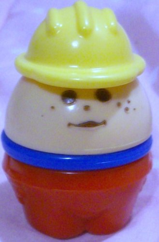 Buy Low Price Mattel Fisher Price Little People Fire Fighter Vintage Man with Hat Replacement Figure Doll Toy (B0025JFIRE)