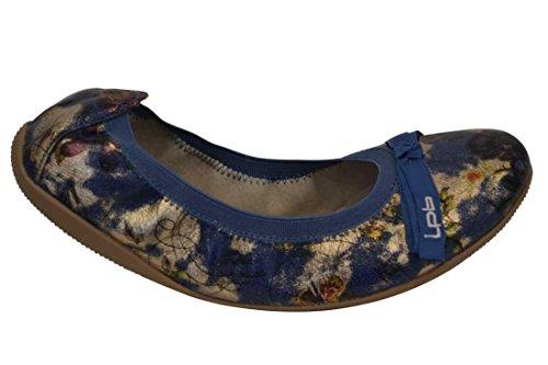 Les P'Tites Bombes ballerina Ella-F, colore: blu, Blu (blu), 36