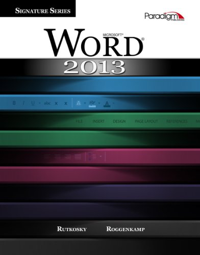 Microsoft Word 2013:Signature-