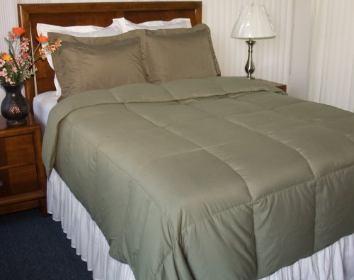 Newpoint Microfiber Full/Queen Down Comforter,
