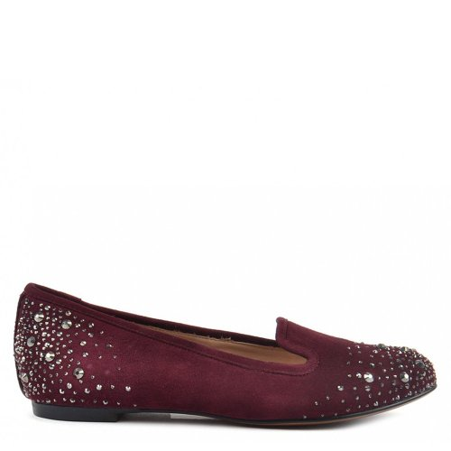 Lola Cruz Mocassini, Donna 37 EU Bordeaux
