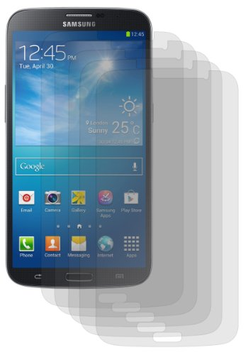 Bastex Antiglare Reflective Matte Screen Protector For Samsung Galaxy Mega 6.3 I9200 - 5 Pack front-1044279