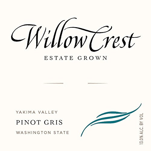 2012 Willow Crest Pinot Gris, Estate Grown, Yakima Valley 750Ml