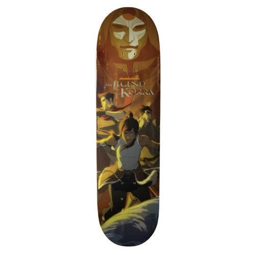 Legend of Korra: Full Cast Skateboard Deck