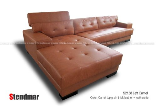 New Modern Camel Top Grain Thick Leather Sectional Sofa S2158LC Is  Definitely The Items Put Out The Foregoing Week. At The Time Of Advancing  Youu0027ll Find It ...