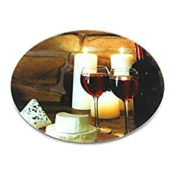 JVS Printed Toughened Lazy Susan 24 (Romantic)