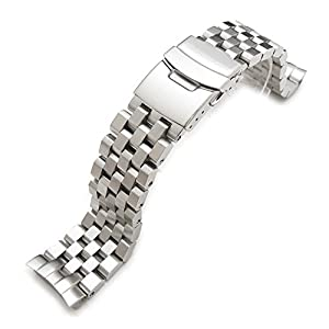 22mm Super Engineer II Stainless Steel Watch Bracelet for SEIKO Diver 6309-7040
