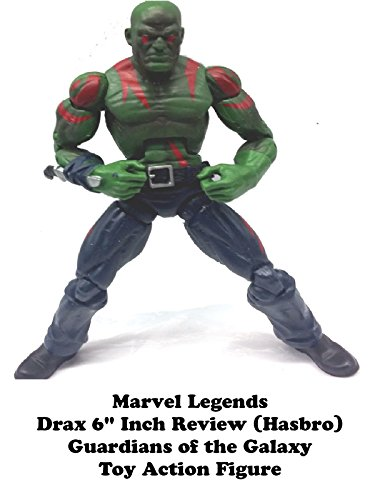 "Marvel Legends DRAX 6"" inch Review (Hasbro) Guardians of the Galaxy toy action figure"