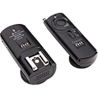 Vello FWB-S2 FreeWave Fusion Basic Wireless Flash Trigger System (Black) + Vello 2.5mm Remote Shutter Release Cable