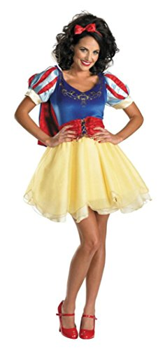 Disguise Womens Disney Princess Sexy Snow White Sassy Deluxe Halloween Costume