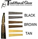 Traditional Archery - Recurve Bow Bowstring Groove Silencers - (Available in 3 Colors)