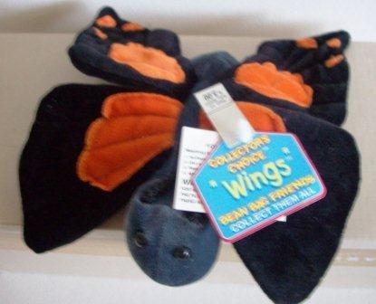 """Butterfly Plush """"Wings"""" Bean Bag Friends By Dandee - 1"""