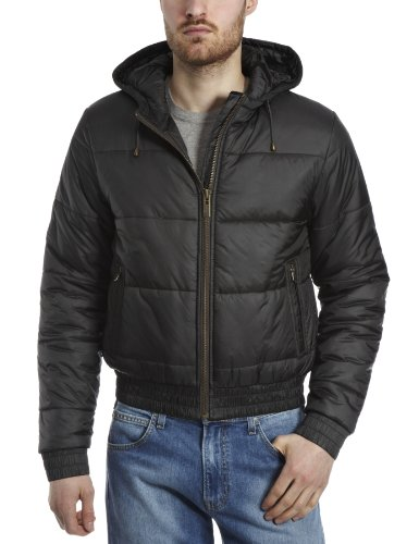 Calvin Klein Hooded Bomber Mens Coat