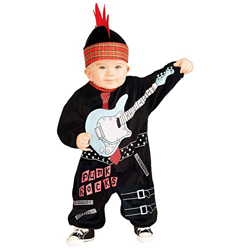 Lil Punk Rock Star Boy Baby Costume - Infant