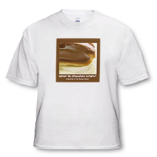 Chocolate Éclair - Youth T-Shirt Large(14-16)