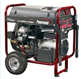 Powermate 15,625 Watt 653cc 22 HP Subaru EH65 V-Twin Gas Powered Portable Generator With Electric Start PM0601250