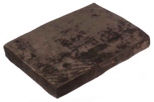 "Sofantex Luxury Orthopedic Memory Foam Pet Bed (24"" x 18"", Coffee)"