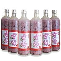 国菊 黒米甘酒 900ml × 6本