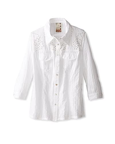 DA-NANG Women's Button-Down Blouse
