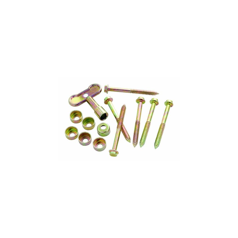 Polished Brass Sash Window Lock and Screws PBH0248 Belwith Hickory Hardware