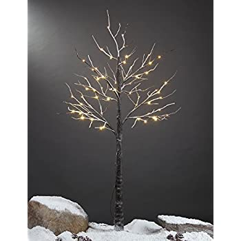 Lighted Snow Tree, Medium