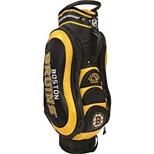 NHL Boston Bruins Medalist Cart Golf Bag