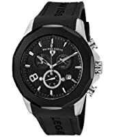 Swiss Legend Men's SL-10042-01-BB Monte Carlo Black Silicone Watch by Swiss Legend