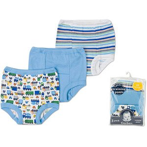 Gerber - Baby Boys' Cotton Training Pants, 3-Pack