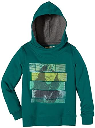 TOM TAILOR Kids Pull Manches longues Fille - Turquoise - Türkis (7458  teal green) - FR : 16 ans (Taille fabricant : 176)