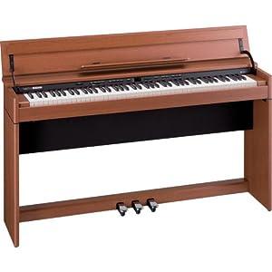 Roland DEMO/USED Open Box DP-990F SuperNATURAL Piano - Medium Cherry