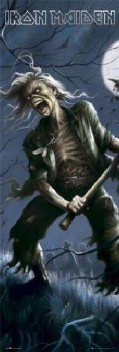 "1art1 36932 - Poster da porta, soggetto ""Iron Maiden - Reincarnation Of Benjamin Breeg"", 158 x 53 cm"