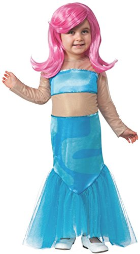 Deluxe Child Girls Molly Costume Dress With Wig