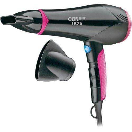 Pink Hair Dryer ~ Conair ionic turbo styler hair dryer black pink