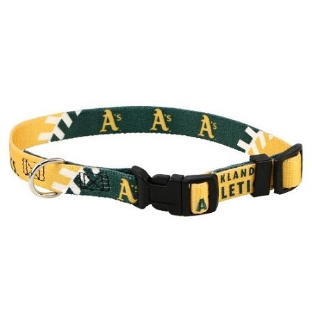 hunter-mfg-oakland-athletics-dog-collar-small-by-mlb