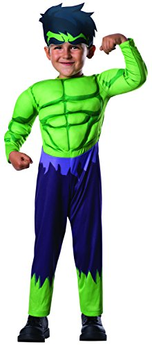 Rubie's Costume Baby Boy's Marvel Classics Avengers Assemble Muscle Chest Hulk